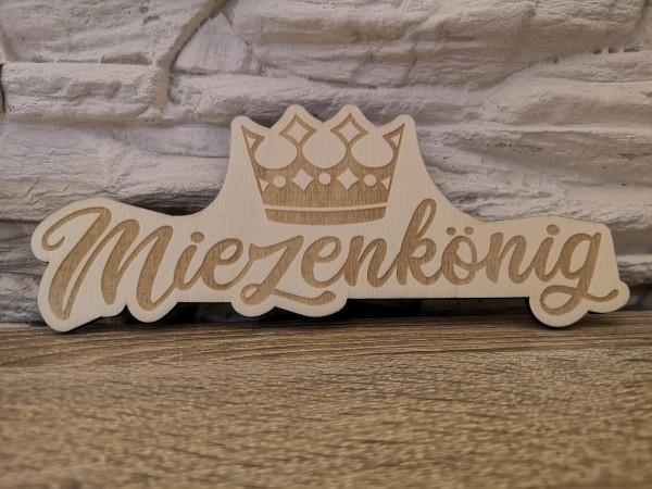 Holzlogo Querformat 10cm